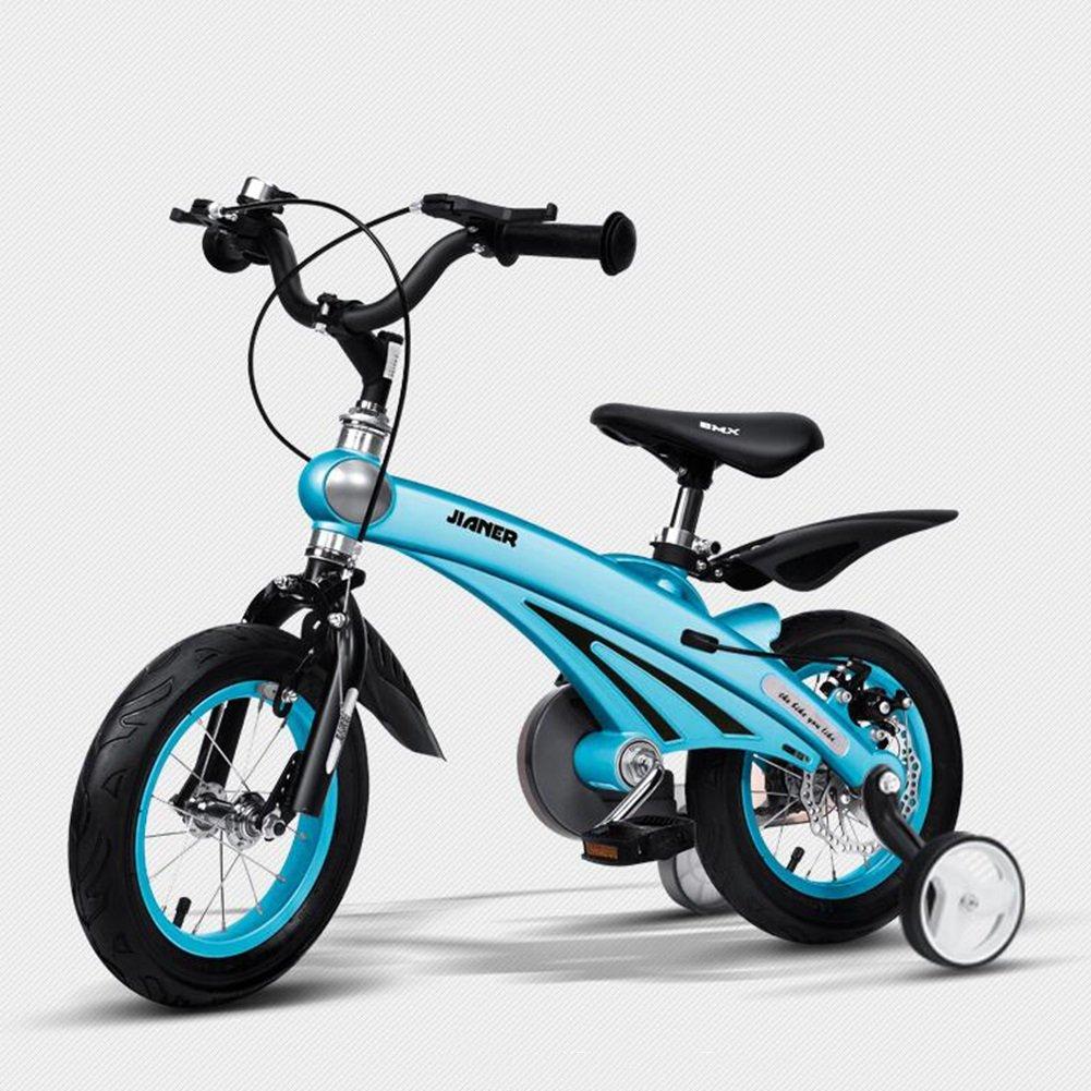 XQ 子供用自転車3歳男女用自転車2-4-6歳のベビーキャリッジ12/14/16インチ子供用サイクリング 子ども用自転車 ( 色 : 青 , サイズ さいず : 14inch ) B07C5NCT38 14inch|青 青 14inch