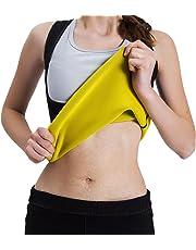 9a7967c1275 Tooklanet Ceinture de Sudation Corset Minceur Femme Ventre Plat Sport Veste  Gaine Amincissante Sport Gilet Fitness