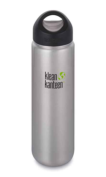 Amazon.com: Klean Kanteen boca ancha aislado botella de ...