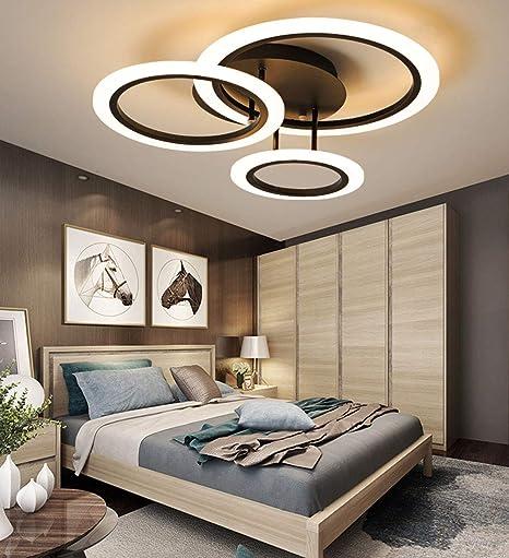 GBX@I Foco de techo: luces de techo Dimmbar, tres círculos ...