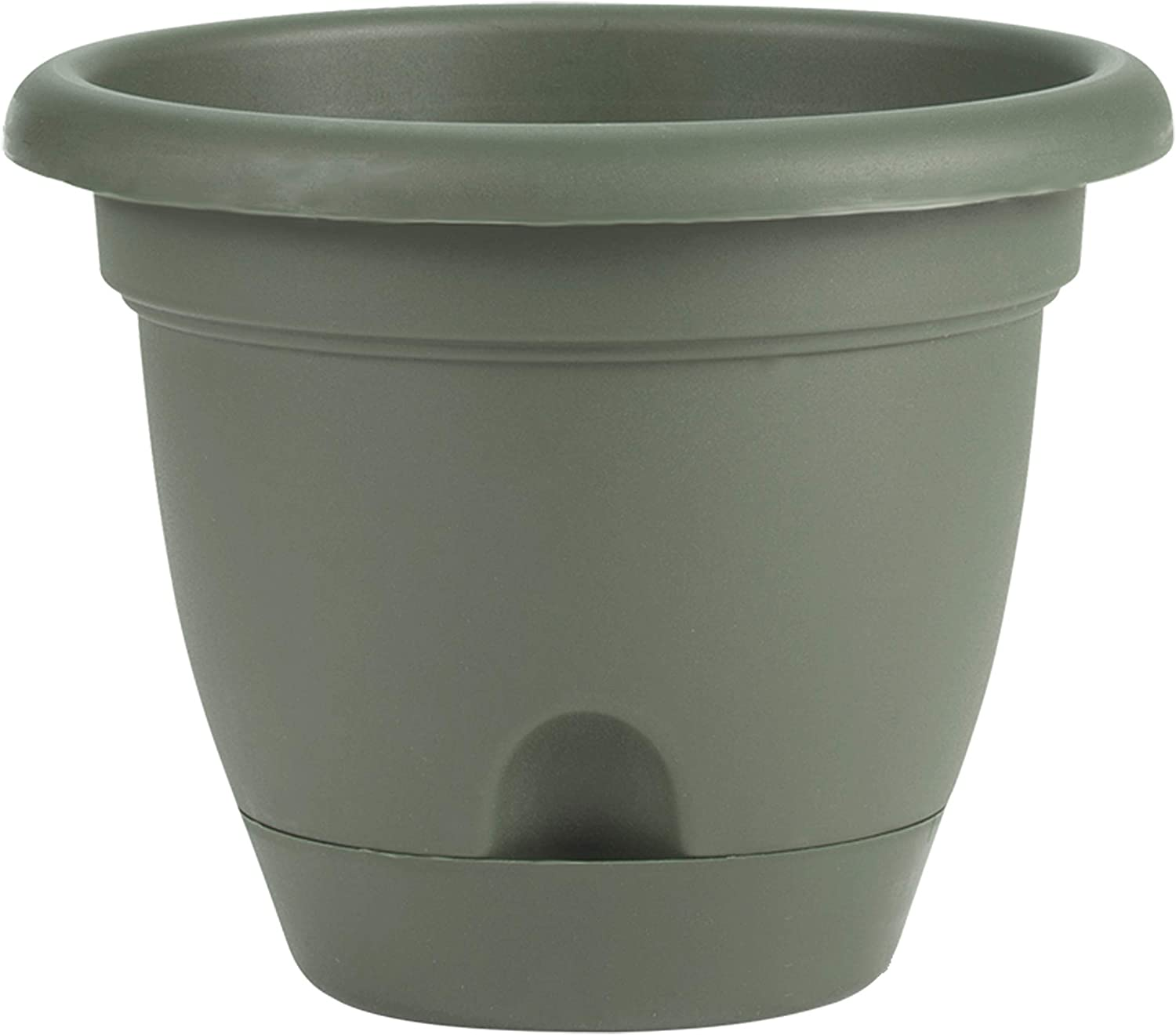 Bloem LP1442 Lucca Planter, 14-Inch, Living Green