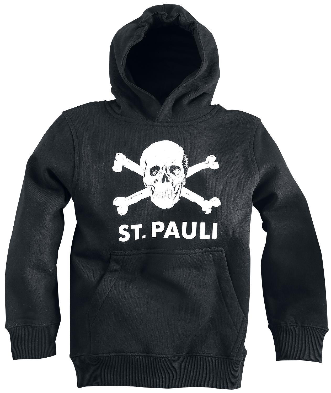 Upsolut FC St. Pauli Skull Sudadera con capucha para niños