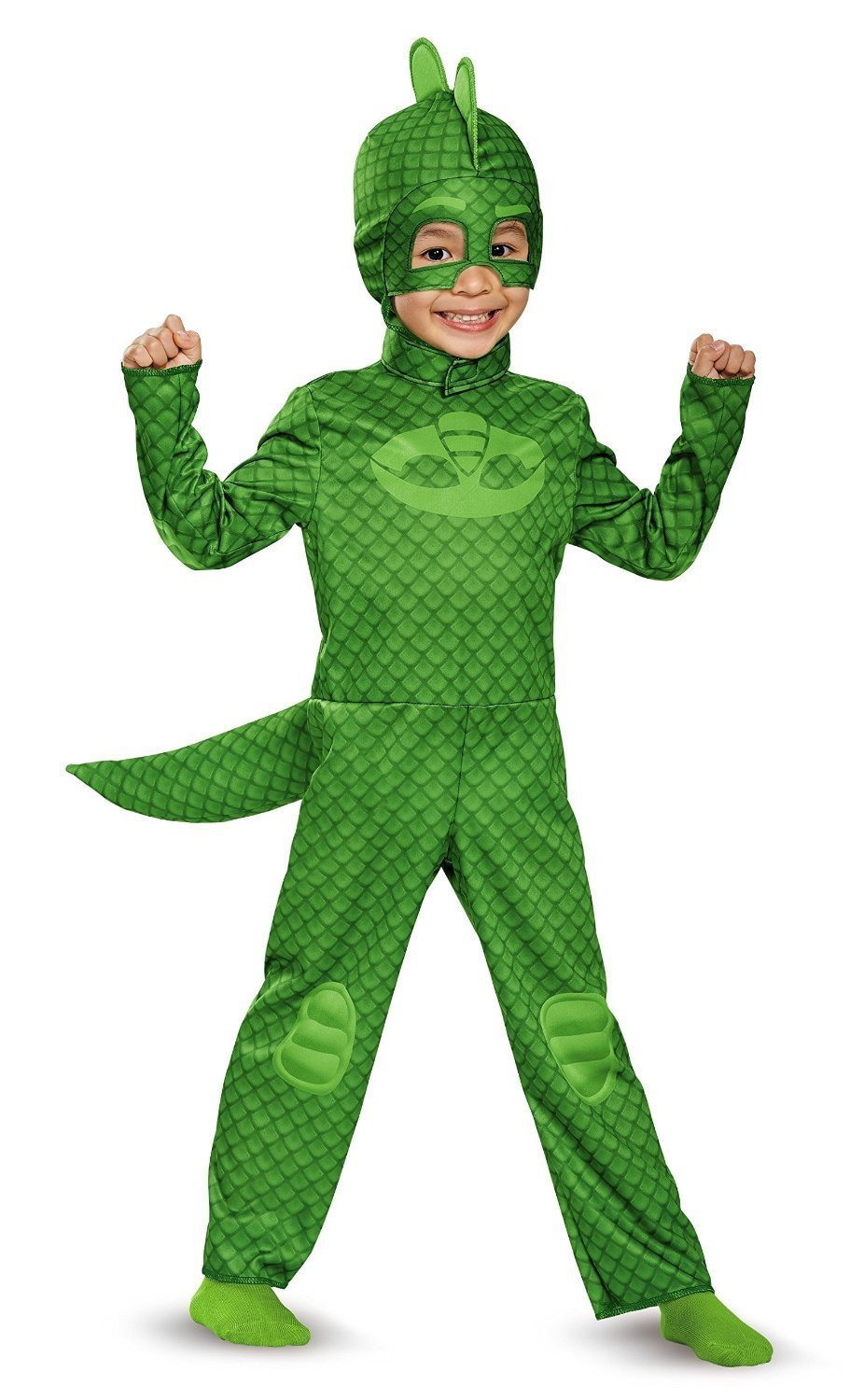 DecoPac PJ Masks Disguise Gekko Classic Toddler PJ Masks Costume, Small/2T: Amazon.es: Hogar