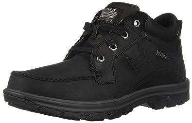 dd07de65abee Skechers Men s Segment-MELEGO Chukka Boot BBK 7.5 Medium US