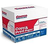 Costco Copy Paper, Letter, 20lb, 92-Bright, 2,500ct CS1 677772 (1-Pack)