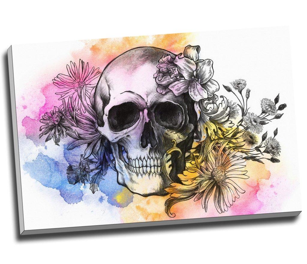 Skull Canvas Print 20*30 Inch HUGE !