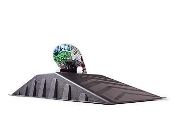 Ondis24 Skater Rampe Skateboard Inliner Rollschuhe Waveboard BMX Bike 113 cm Zubehör