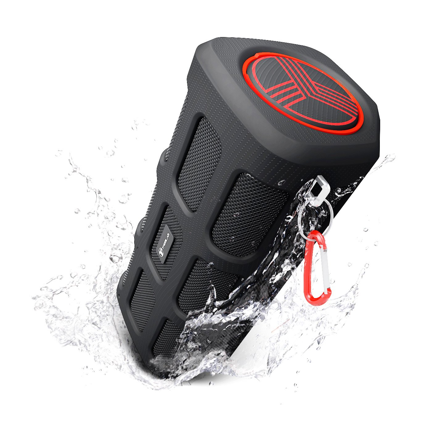 TREBLAB FX100 - Extreme Bluetooth Speaker - Loud, Rugged for Outdoors, Shockproof, Waterproof IPX4, Built-In 7000mAh Power Bank, HD Audio w/ Deep Bass, Portable Wireless Blue Tooth Microphone Mic by Treblab (Image #1)