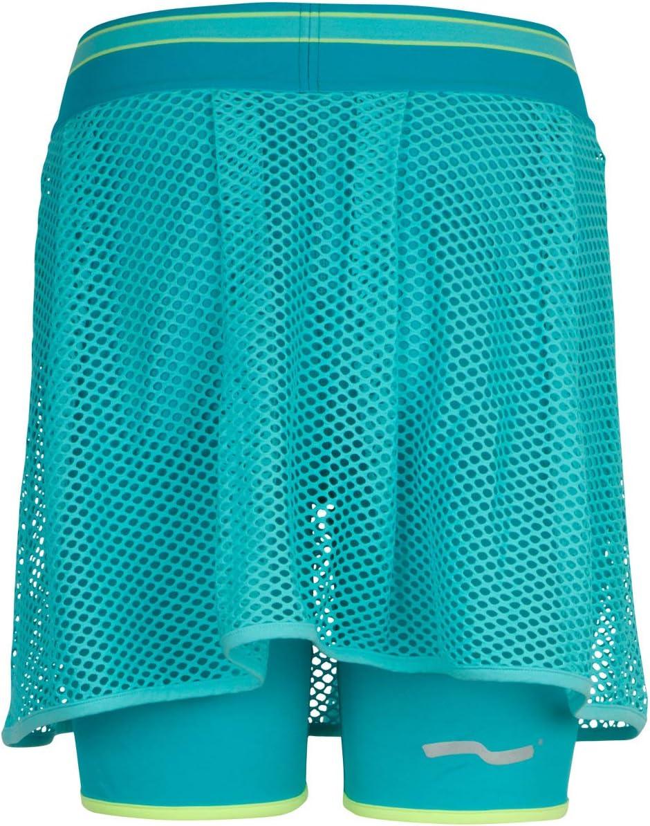 TAO Sportswear Atmungsaktiver Damen Funktionsrock mit kurzer anliegender Hose Rock mit Tight