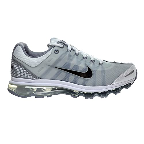 Nike Air MAX 2009 Men's Shoes WhiteBlackStealth 486978 101