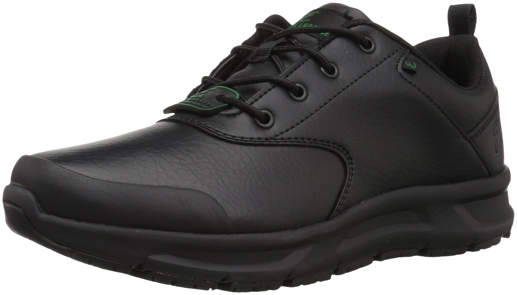 Emeril Lagasse Men's Basin Tumbled Food Service Shoe, Black, 11 Medium US by Emeril Lagasse