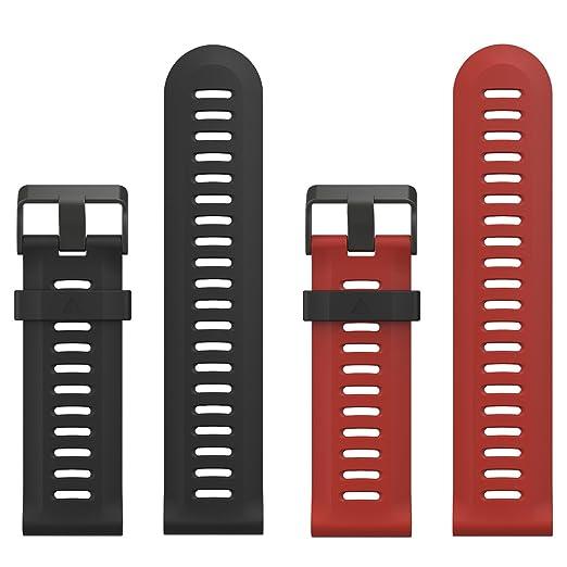 25 opinioni per Garmin Fenix 3 / Fenix 5x Bracciale , MoKo Morbido Cinturino di ricambio in