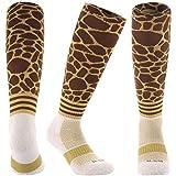 Samson Hosiery ® Print Giraffe Knee High Socks   Soccer Unisex