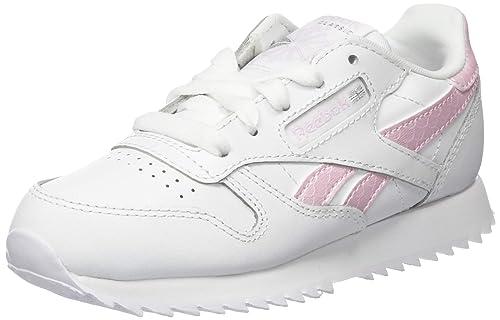 Zapatillas Reebok Classic Leather Blanco Mujer: Amazon.es