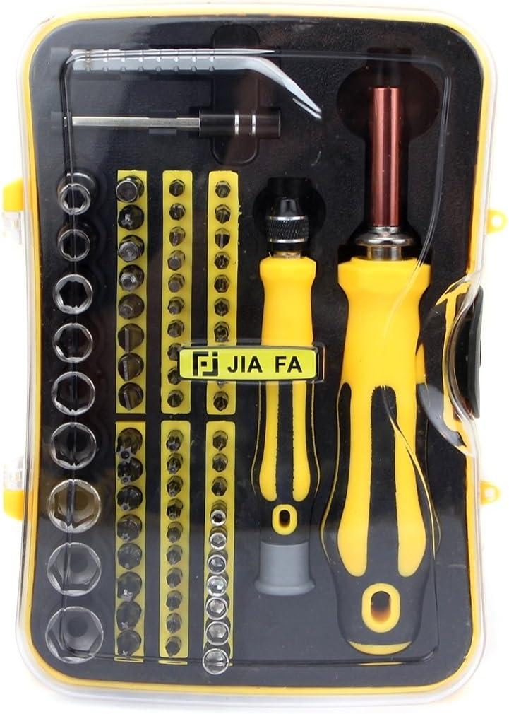 Deluxe Cell Phone Repair Tool Kits JF-6092C Durable 70 in 1 Professional Multi-Functional Repair Tool Set Repair Kits