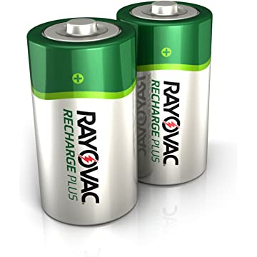 reliable Rayovac Recharge Plus