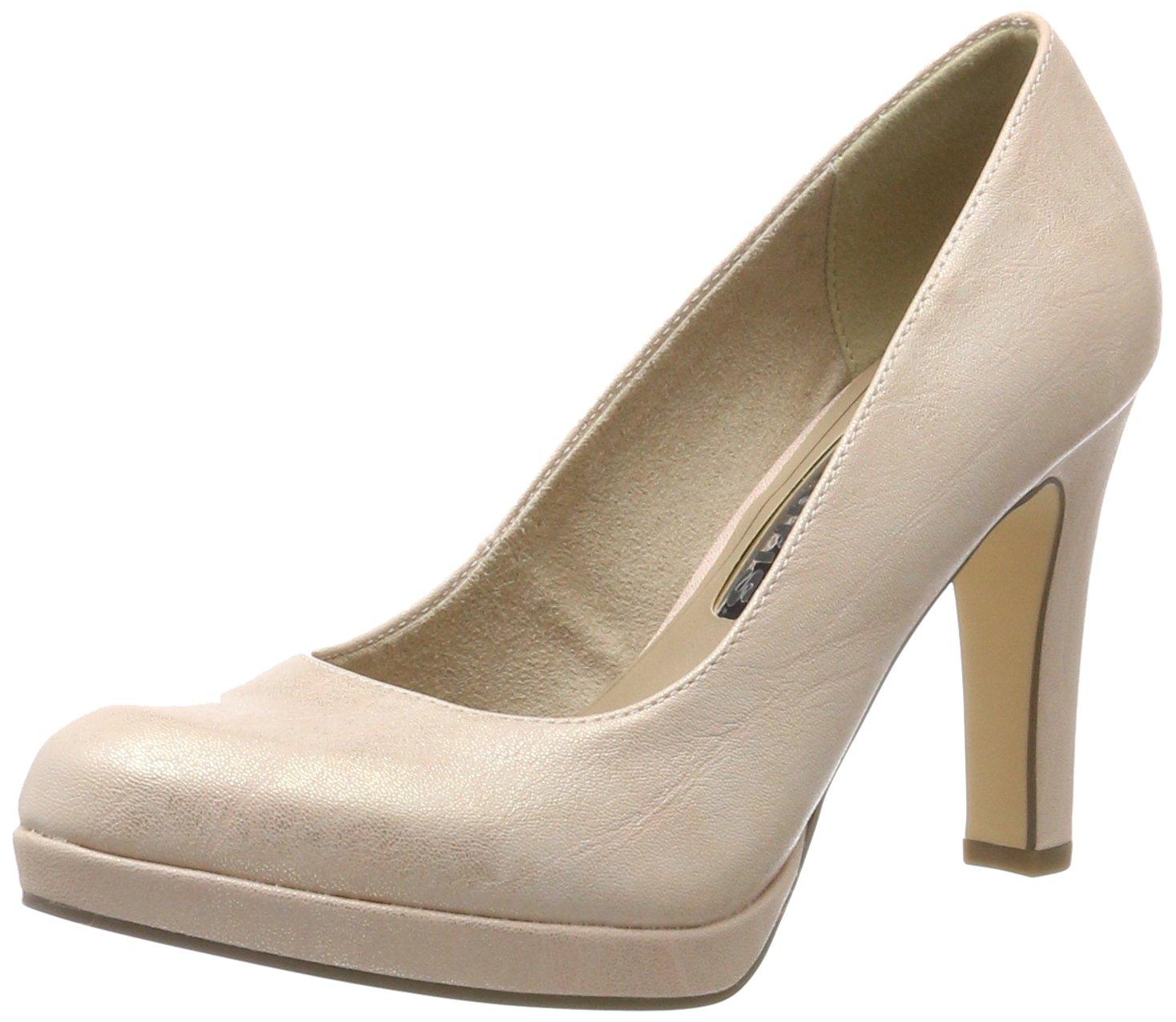 Tamaris 22426, Zapatos de Tacón para Mujer 36 EU|Rosa (Rose Mettalic 952)