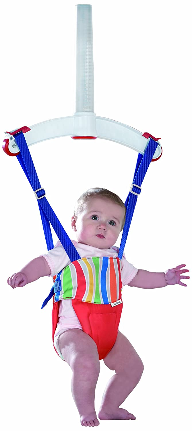 96035bd88c66 Lindam Jump About Plus Bouncer (Red)  Amazon.co.uk  Baby