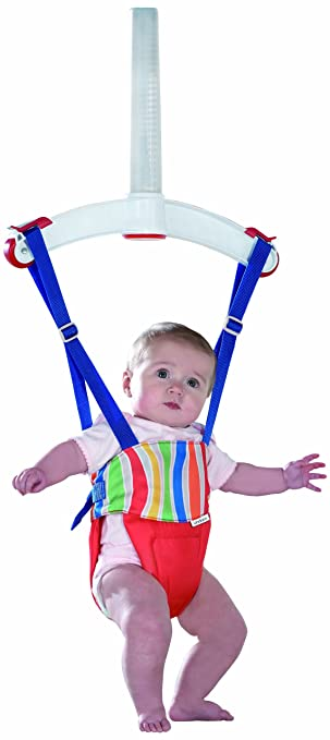 25cd7060a Lindam Jump About Plus Bouncer (Red)  Amazon.co.uk  Baby