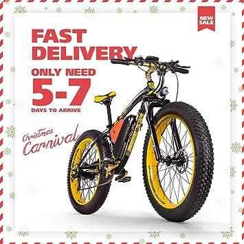 4812b340e41 RICH BIT RT-022 1000W 48V 17AH Electric Bike 26 inch Aluminum Alloy Frame  Full