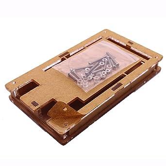 1PCS New Box Enclosure Gloss Transparent Case for Arduino Mega2560 R3 new