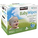 Kirkland - ibqh Baby Wipes - Ultra Soft - 900 Count Box rcuzj