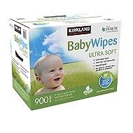 Kirkland - ibqh Baby Wipes - Ultra Soft - 900 Count Box rcuzj