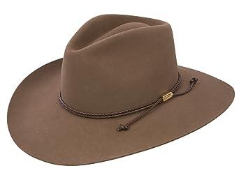 5c5b3eeb9f2e Stetson Cowboy Hat 4X Beaver Fur Acorn Carson Pinch at Amazon Men's  Clothing store: