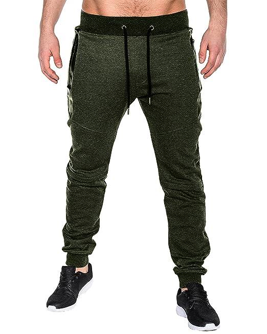 MODCHOK Hombre Pantalones Largos Chino Jogging Chš¢ndal Deportivos Jogger Aptitud?: Amazon.es: Ropa y accesorios