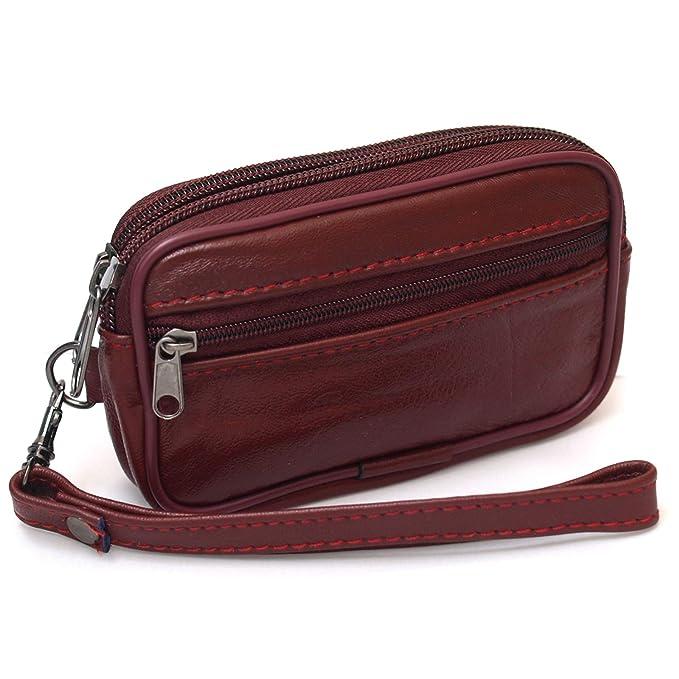 Amazon.com: Pequeño monedero cartera cinturón trabillas ...