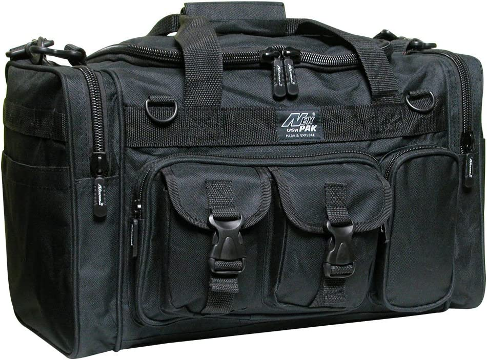 "Nexpak 18"" Tactical Duffle Millitary Molle Gear Range Bag with Shoulder Strap Available"