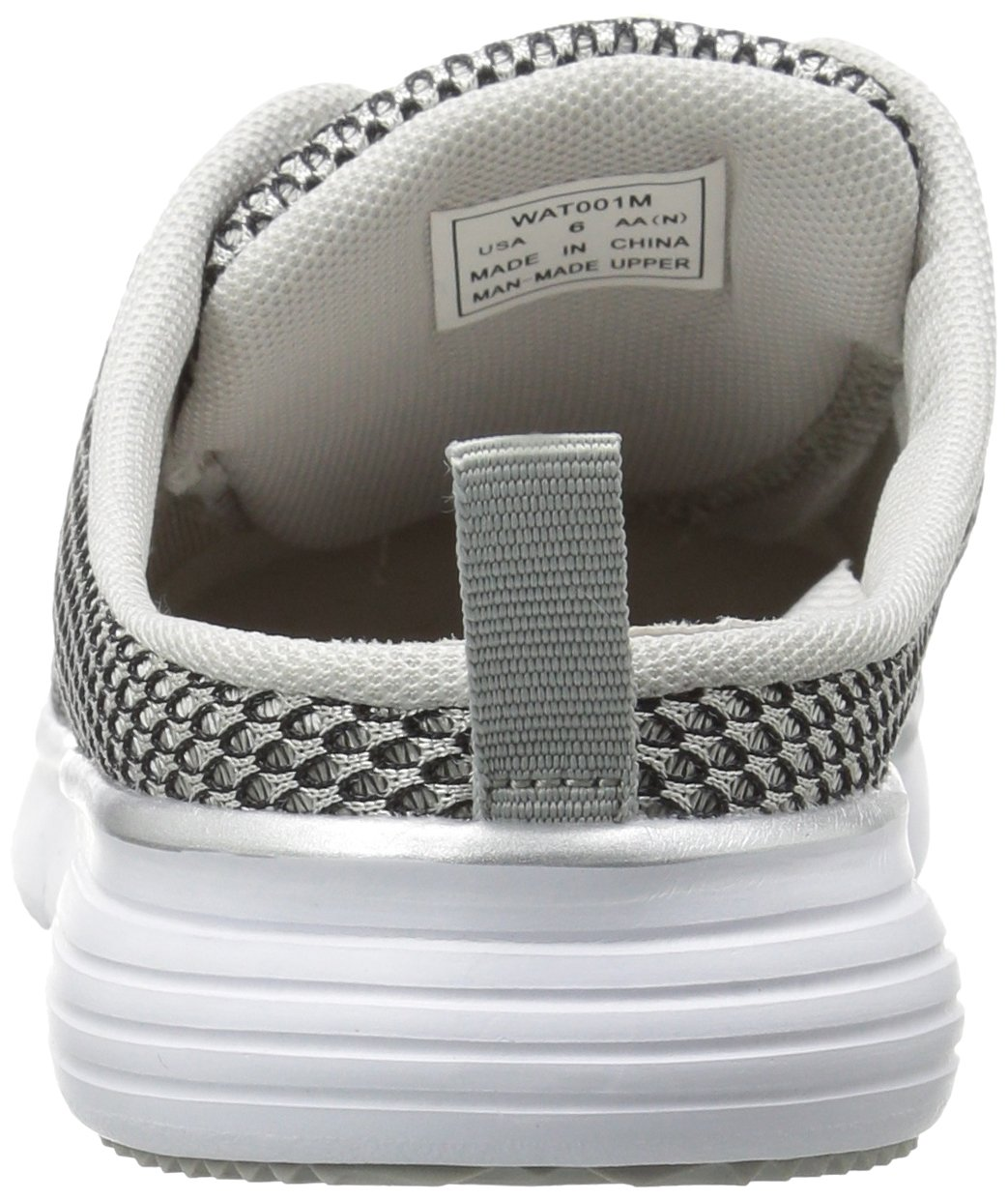 Propet Women's TravelFit Slide Walking Shoe B01IOEX8CK 11 4E US|Silver/Black