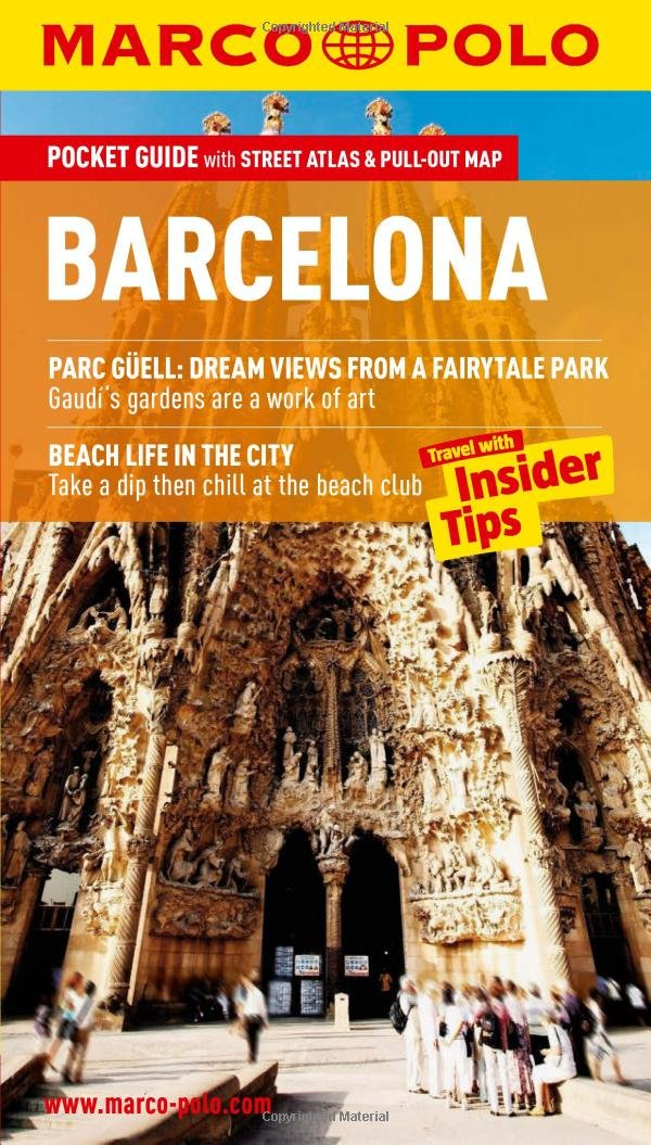 Barcelona Marco Polo Pocket Guide Marco Polo Travel Guides: Amazon.es: Marco Polo: Libros en idiomas extranjeros
