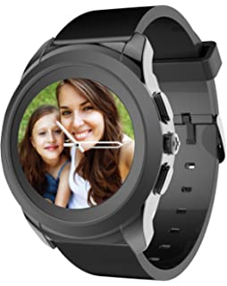 MyKronoz ZeTime Regular Original Reloj Inteligente Plata, Blanco TFT 3,1 cm (1.22