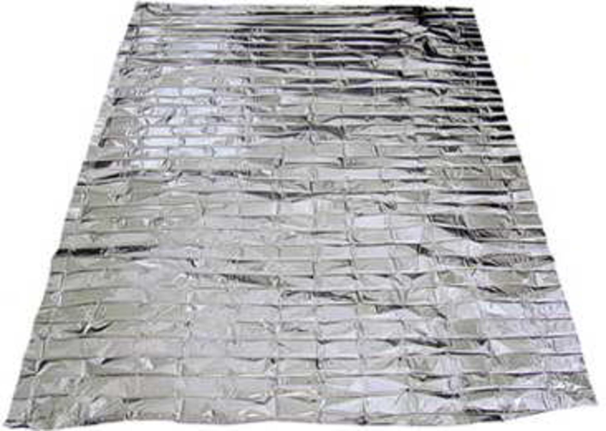 100 PACK • Emergency Solar Blanket Survival Safety Insulating Mylar Thermal Heat by SE (Image #2)