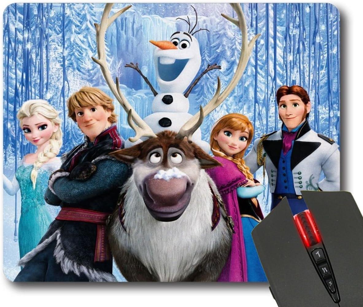 Frozen Maßgeschneiderte Print Rechteck Diy Mauspad Mauspad Bürobedarf Schreibwaren