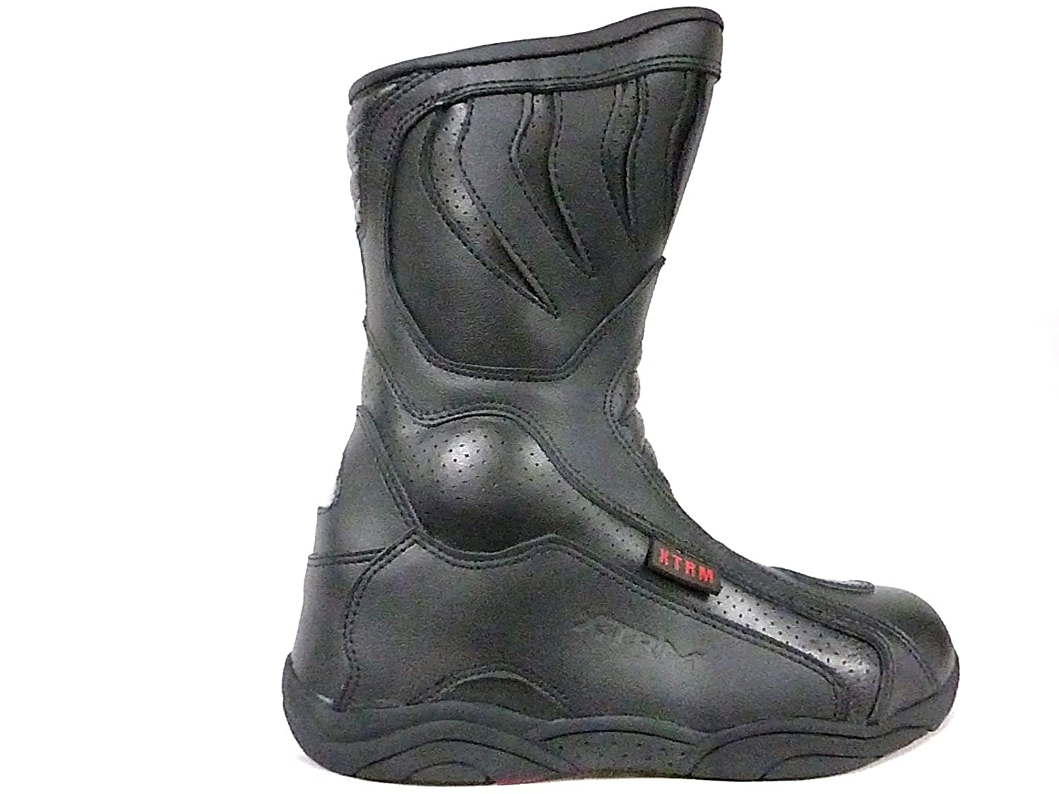 MoTorbike ScooTer XTRM 801 BlacK BooT MoTorcycle HeavY-Duty TouRinG URban Racing SporTs BooTs