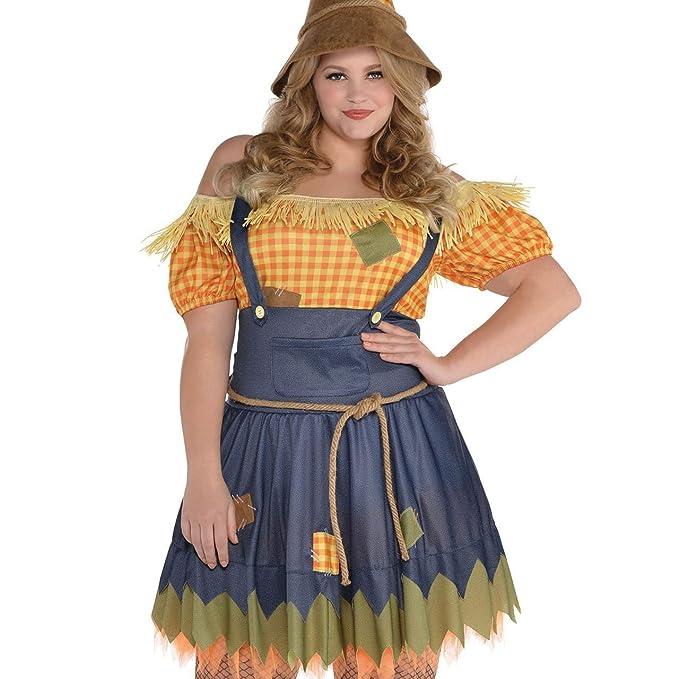 Amscan International Mago de Oz Espantapájaros-traje para las mujeres - Tamaño 44/46: Amazon.es: Juguetes y juegos
