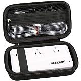 Aproca Hard Storage Travel Case for BESTEK Universal Travel Adapter 220V to 110V Voltage Converter (Black)