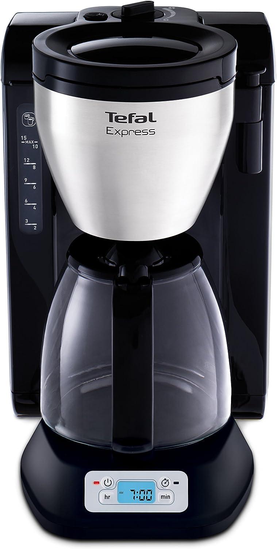Tefal CM3928 - Cafetera de goteo, 1200 W, color negro: Amazon.es: Hogar
