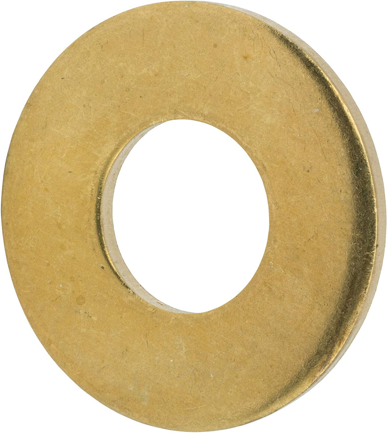 3//4 Flat Solid Brass Flat Washers Commercial Standard Grade 360 Qty 50