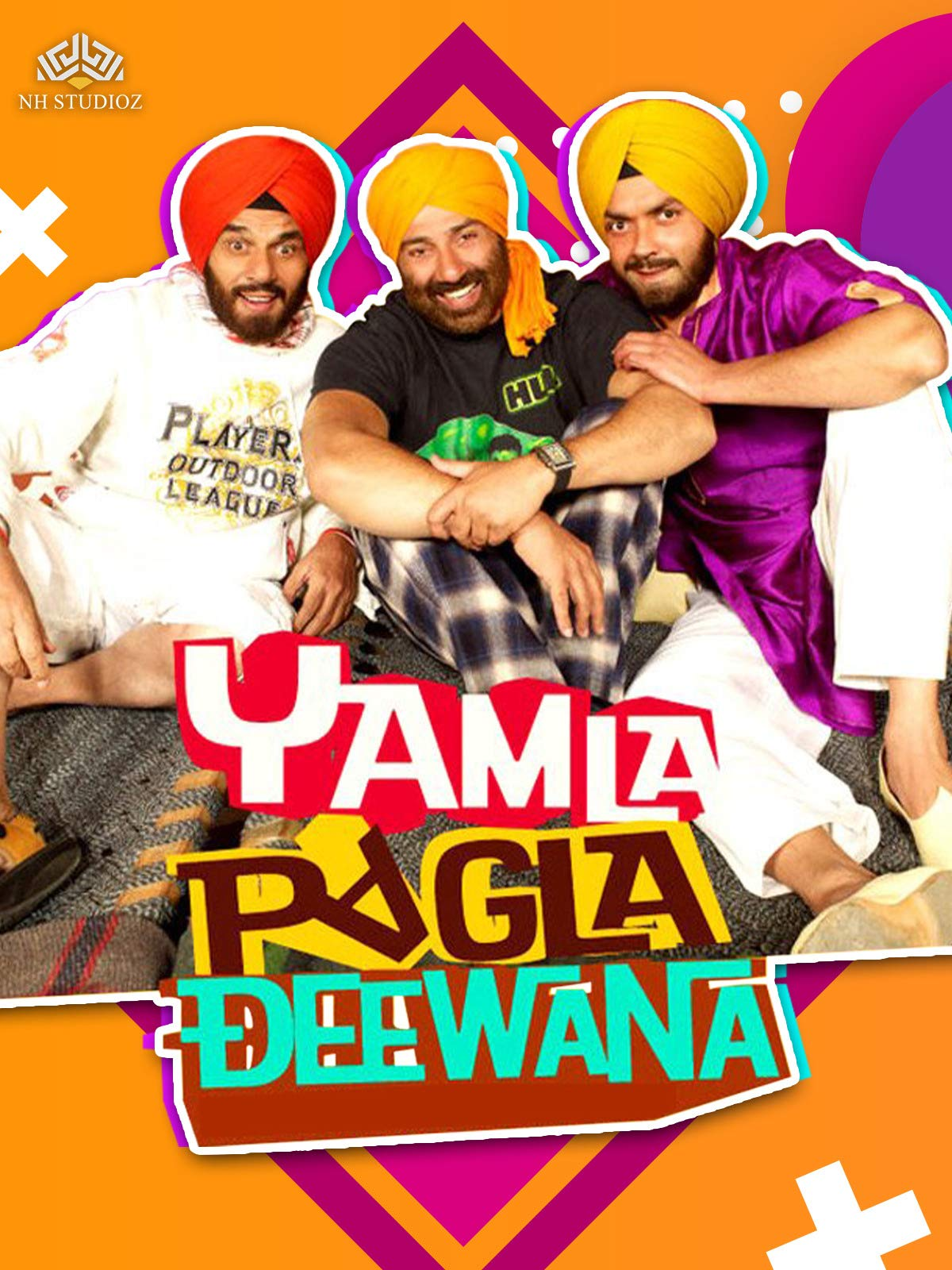 Yamla Pagla Deewana on Amazon Prime Video UK