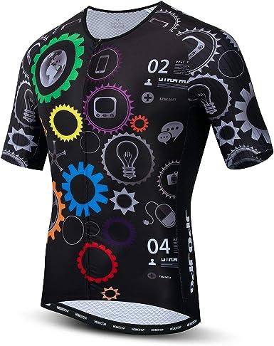 JPOJPO Hombres Ciclismo Jersey Bicicletas Camisa Mountain Road Ciclismo Wear