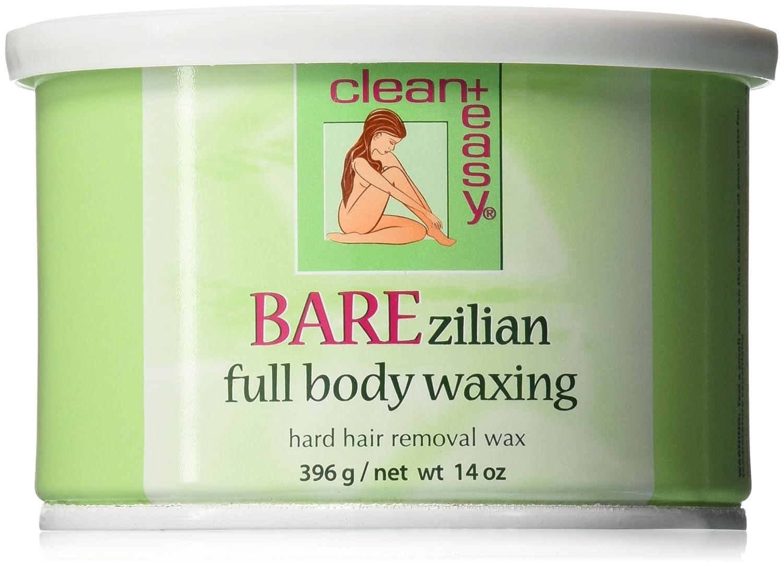 Clean + Easy BAREzilian Hard Wax 14 oz