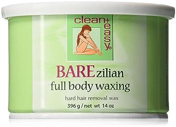 Amazon clean easy hard wax barezilian 14 ounce hair clean easy hard wax barezilian 14 ounce solutioingenieria Image collections