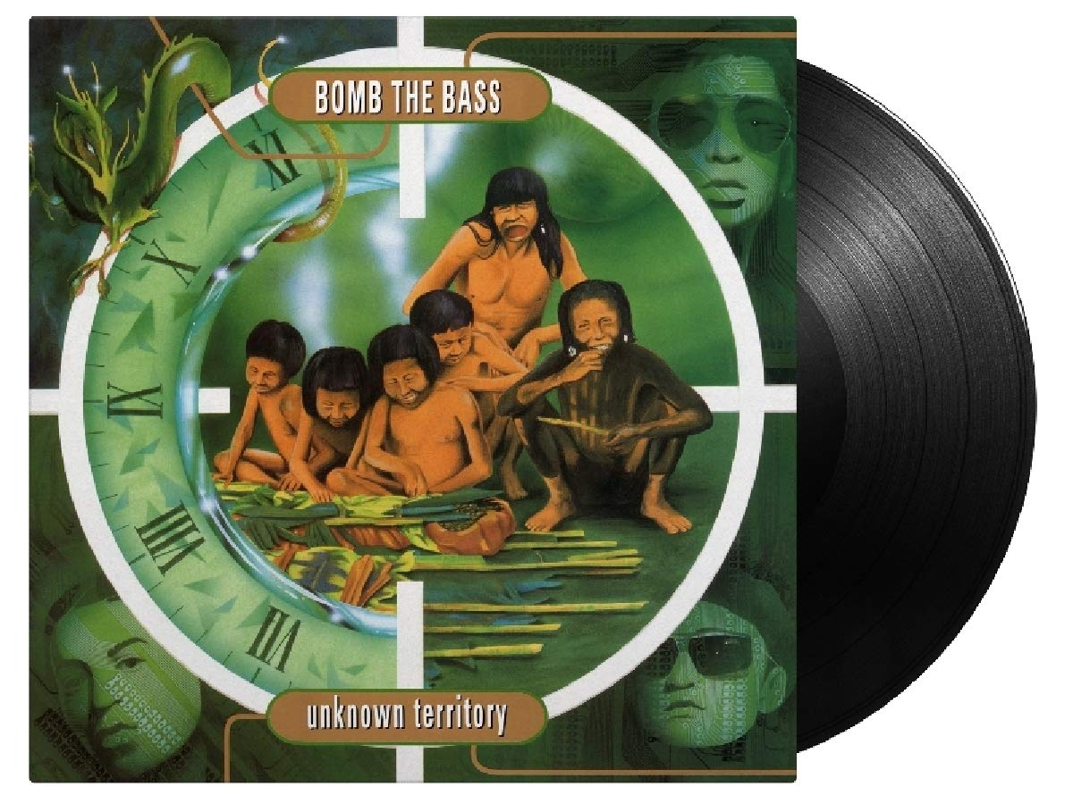 Vinilo : Bomb the Bass - Unknown Territory (Holland - Import)