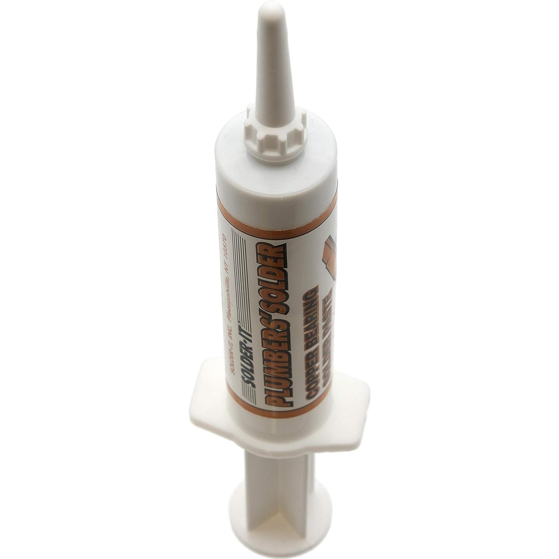 Silver & Copper Bearing Soldering Solder Paste Metals Jewelry Repair Kit 2 Pcs