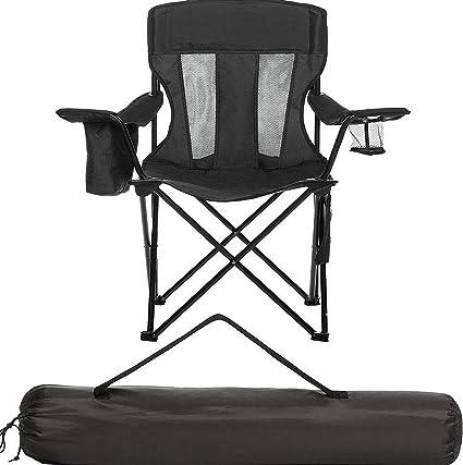 Super Amazon Com Kaputar Heavy Duty Camping Chair Mesh Portable Creativecarmelina Interior Chair Design Creativecarmelinacom