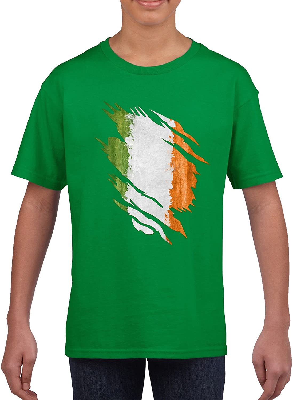 Ireland Flag Hoodie irish soccer St Patrick/'s Vintage Logo football World cup