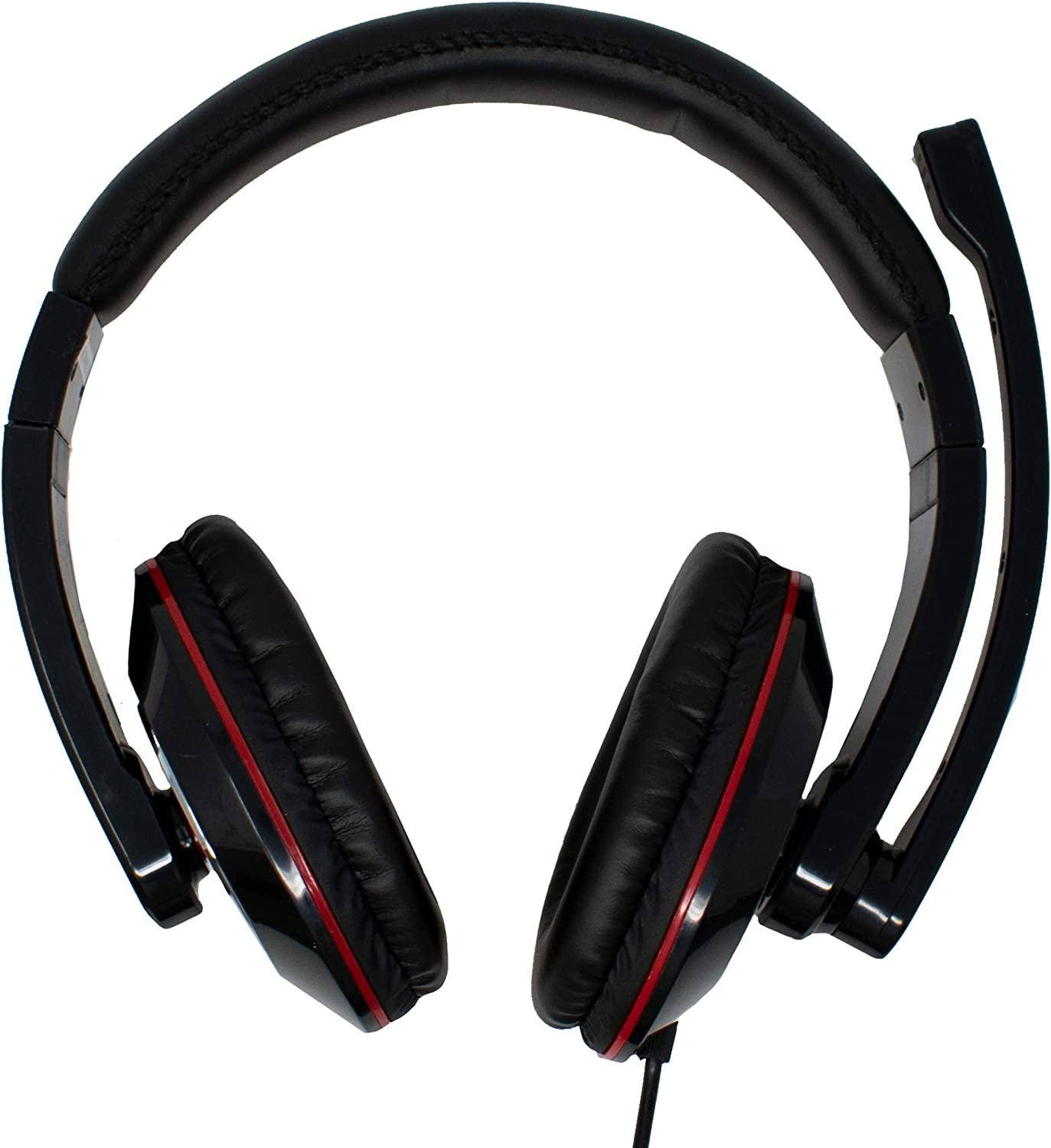 3.5mm Mic Jack Headphone Stereo Headset
